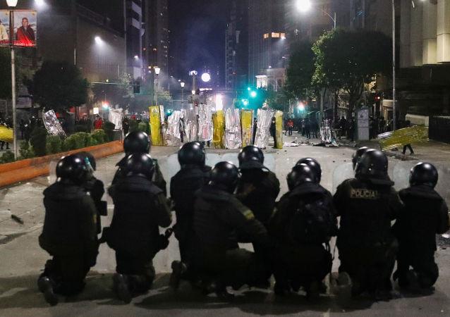 Zamieszki w Boliwii