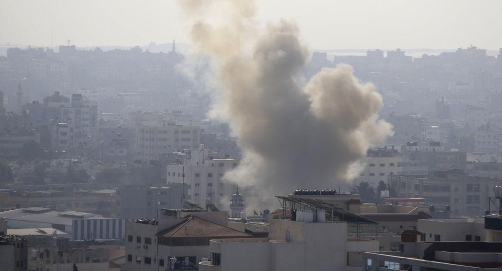Ostrzał Strefy Gazy przez Izrael