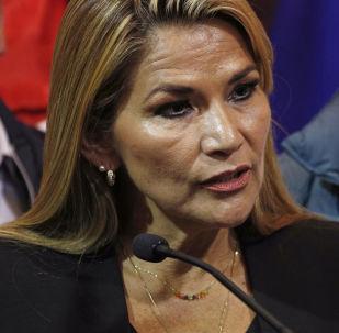 Senator opozycji Jeanine Anez w Boliwii