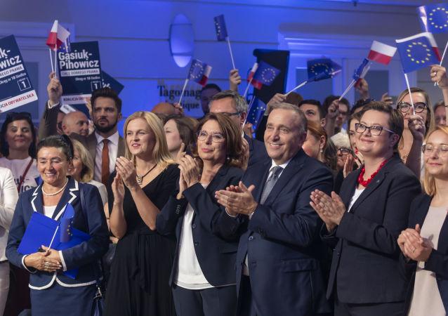 Politycy Koalicji Obywatelskiej, Małgorzata Kidawa-Błońska, Grzegorz Schetyna, Katarzyna Lubnauer, Barbara Nowacka