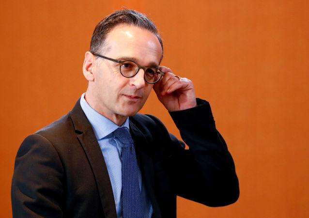 Minister spraw zagranicznych Niemiec Heiko Maas