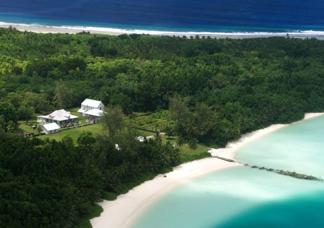 Część archipelagu Czagos