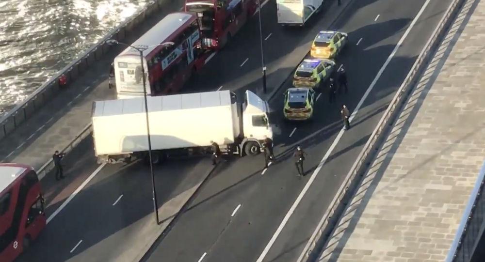 Policja na Moście Londyńskim, 29.11.2019