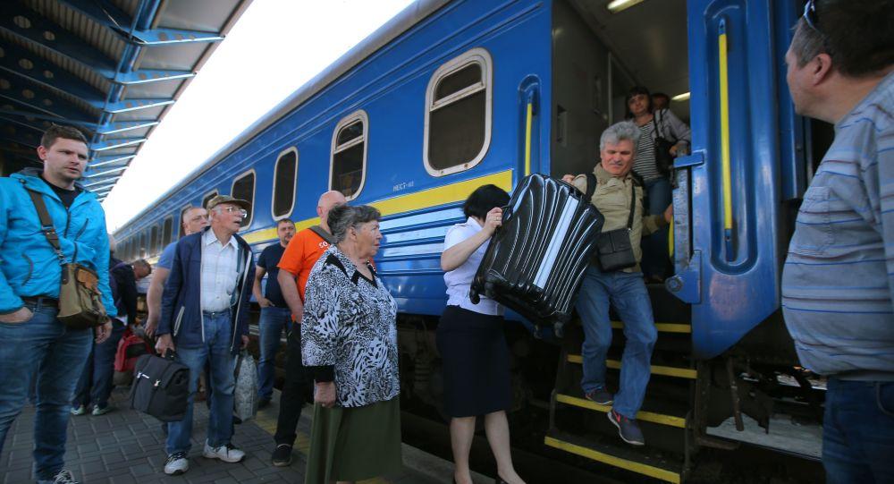 Ukraińskie koleje