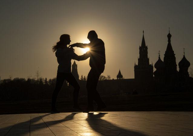 Moskwa. Park Zariadje