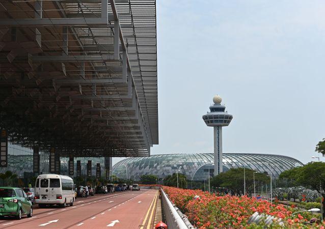 Lotnisko Changi w Singapurze