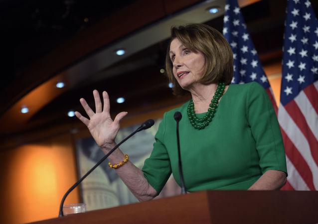 Przewodnicząca Izby Reprezentatów USA Nancy Pelosi