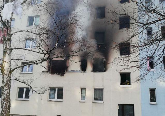 Wybuch w domu mieszkalnym w Niemczech.
