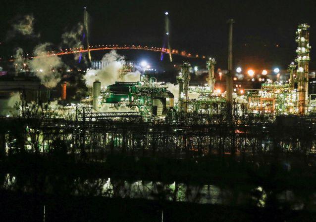 Pożar w rafinerii Total