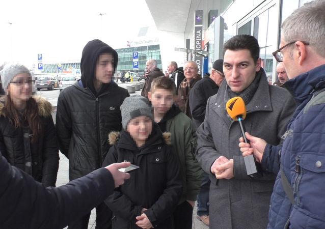 Rodzina Dombajevów powróciła do Moskwy.