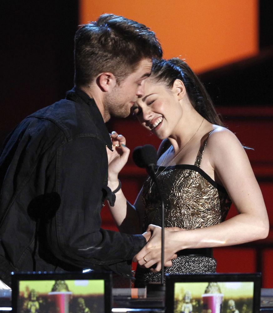 Kristen Stewart i Robert Pattinson w 2010 roku