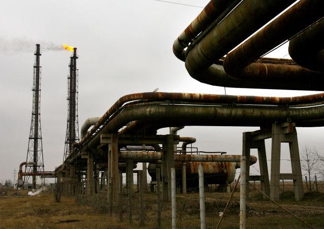 Gazociąg spółki Transgaz w Rumunii