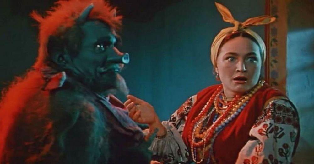 """Radziecki film """"Wieczory na farmie w pobliżu Dikanka"""", 1961 rok"""