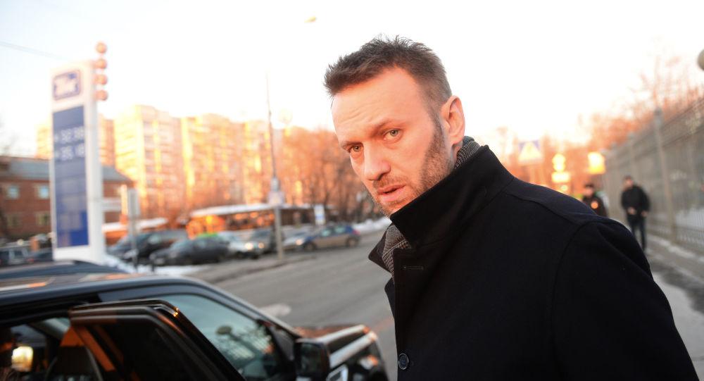 Opozycjonista Alieksiej Nawalny