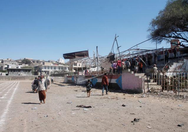Wybuch w Jemenie