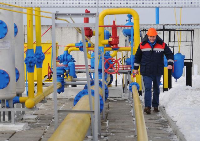 """Stacja dystrybucji gazu """"Nieżuchiw"""" w obwodzie lwowskim"""