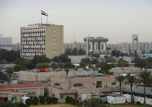 Widok na Bagdad, Irak