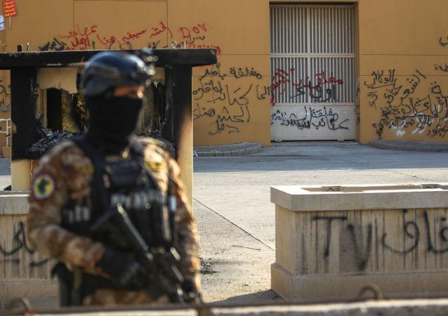 Ambasada USA w Bagdadzie.