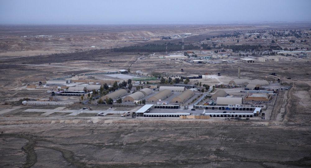 Baza lotnicza Ayn al Asad w zachodnim Iraku