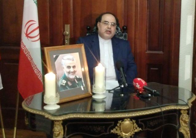 Ambasador Islamskiej Republiki Iranu w Polsce Masoud Kermanshahi