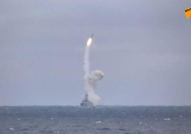"""Testy rosyjskiego pocisku hipersonicznego """"Kinżał"""""""