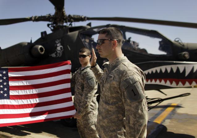 Amerykańskie siły w Iraku