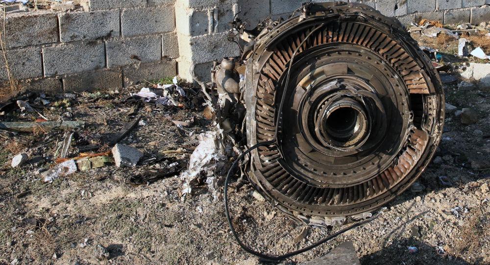 Katastrofa ukraińskiego samolotu Boeing 737-800