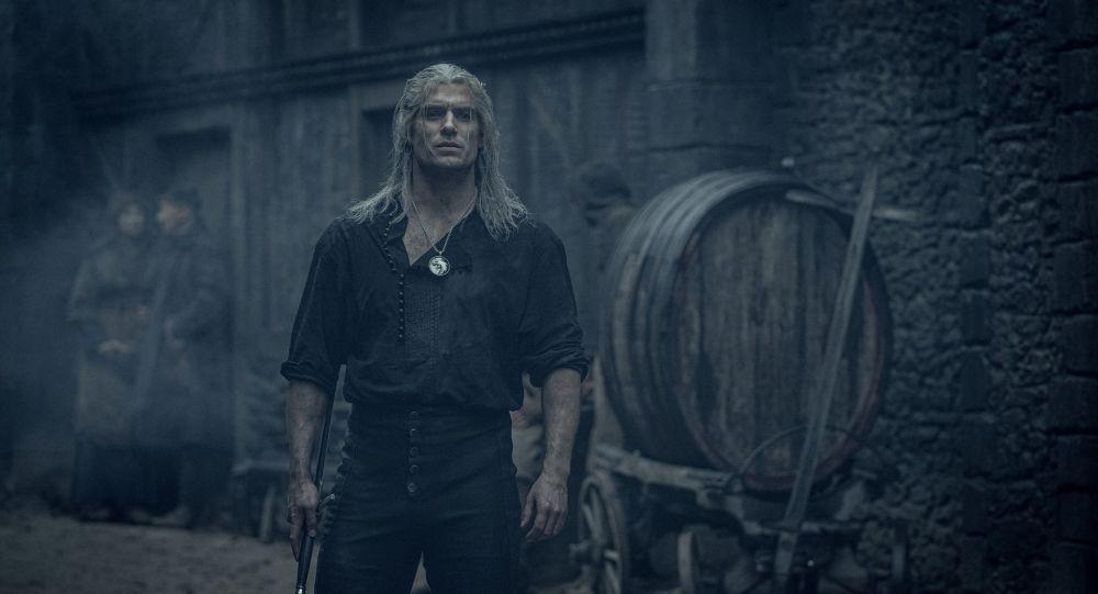Kadr z serialu Wiedźmin