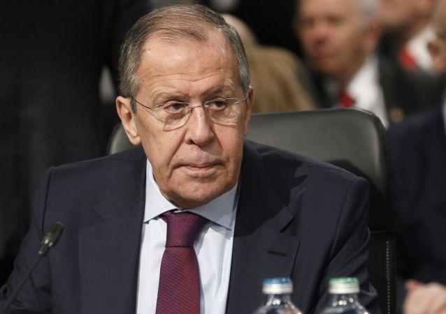 Minister spraw zagranicznych Rosji Siergiej Ławrow na 26 posiedzeniu Rady Ministrów Spraw Zagranicznych OBWE