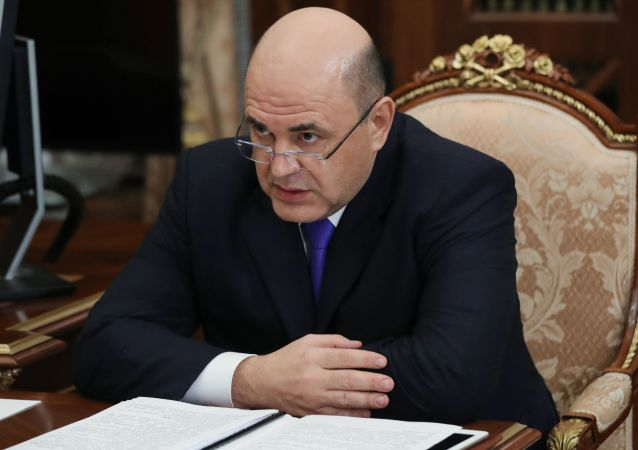Szef Federalnej Służby Podatkowej Rosji Michaił Miszustin.