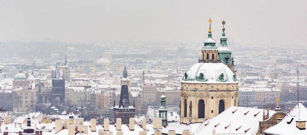 Praga w zimie