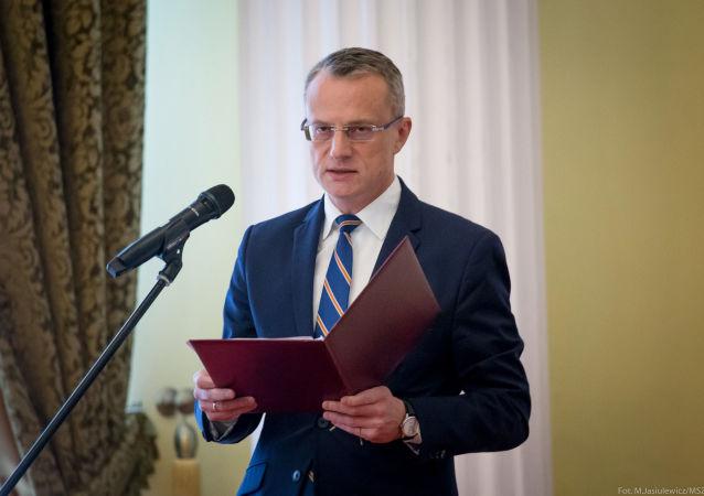 Ambasador Polski w Izraelu Marek Magierowski