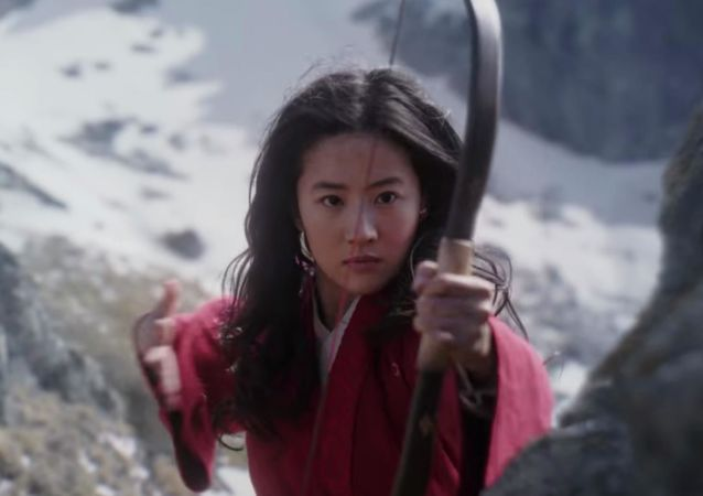 Kadr z filmu Mulan.