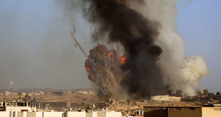 Nalot na Jemen sił powietrznych koalicji kierowanej przez Arabię Saudyjską