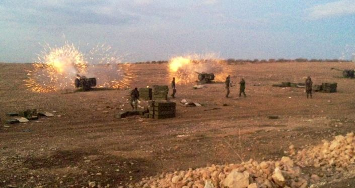 Syryjska artyleria ostrzeliwuje bojowników PI w prowincji Hama