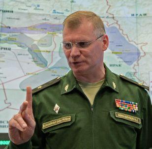 Rzecznik Ministerstwa Obrony FR generał-major Igor Konaszenkow
