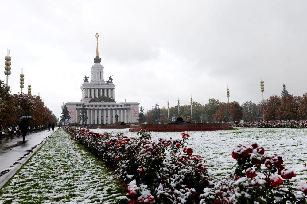 Pawilion Centralnyj w Ogólnorosyjskim Centrum Wystawowym w Moskwie
