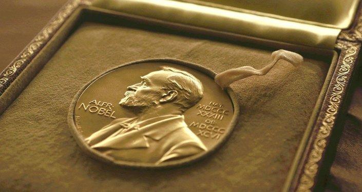 Medal wręczany laureatom Nagrody Nobla