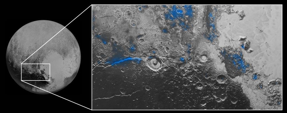Lód na Plutonie