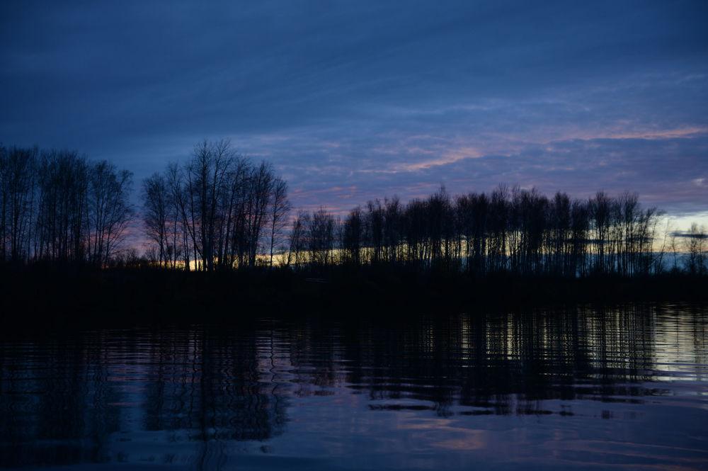Rzeka Sośwa jest niezbędnym środkiem komunikacyjnym w obwodzie swierdłowskim