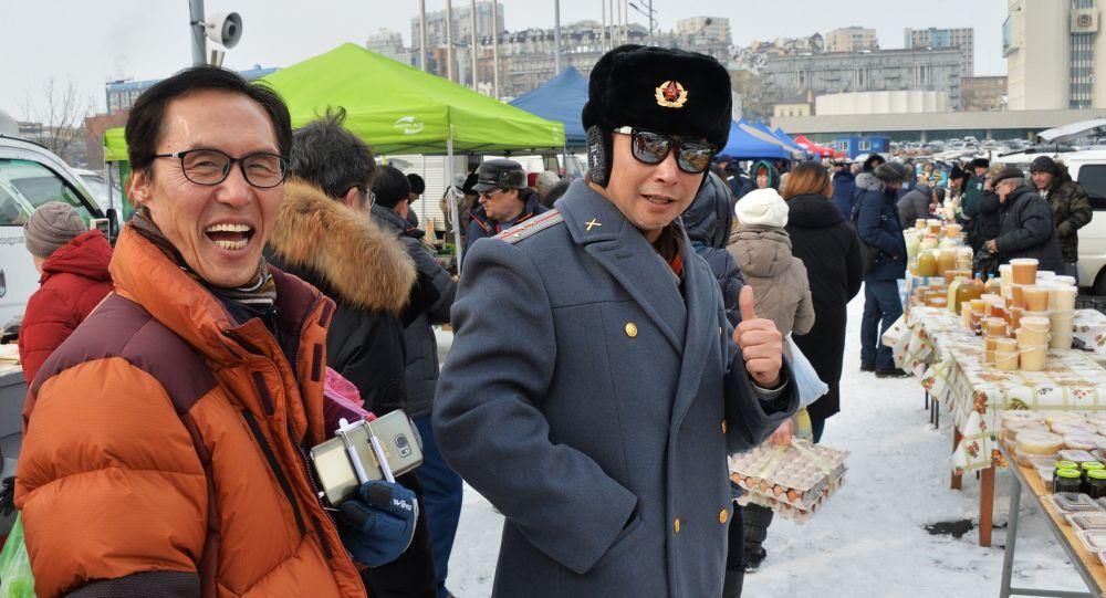 Chińczycy we Władywostoku