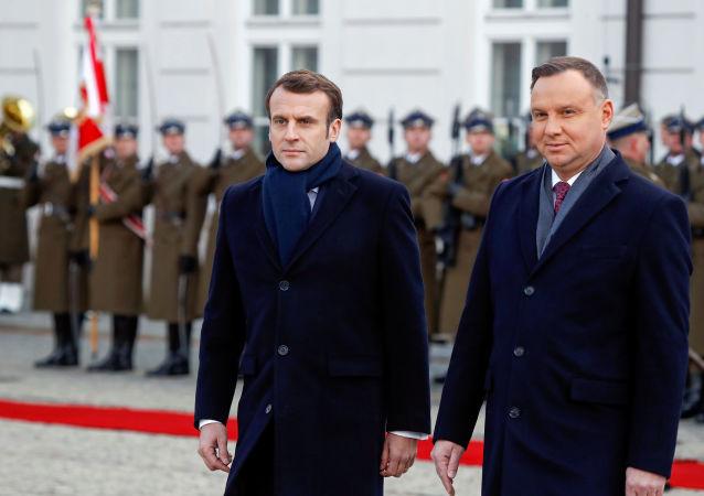 Wizyta Emmanuela Macrona w Warszawie