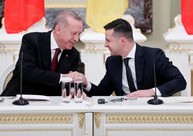 Spotkanie prezydentów Turcji i Ukrainy