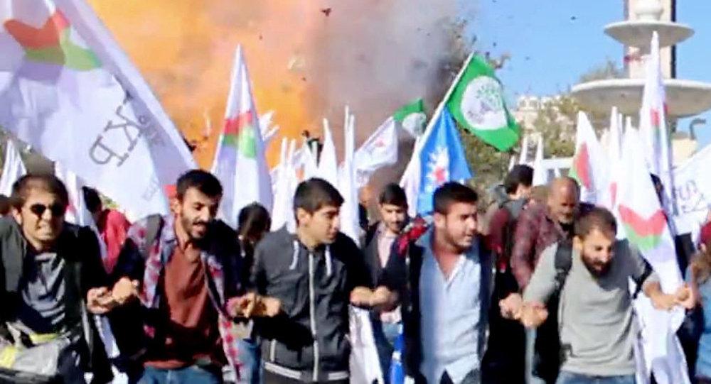 Atak bombowy w Ankarze