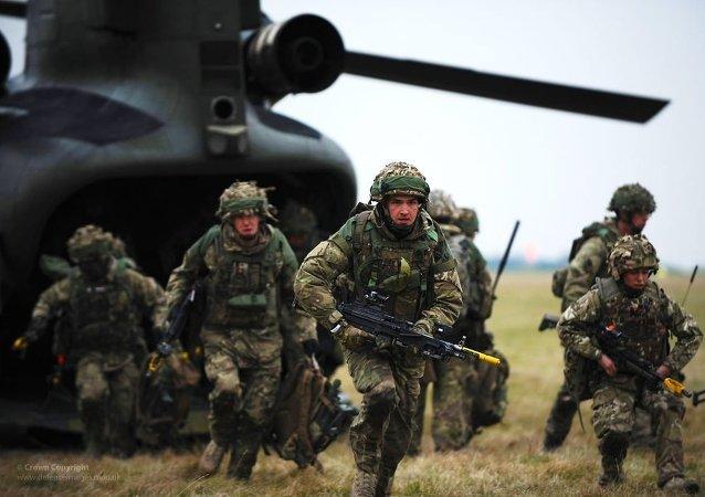 Żołnierze Wielkiej Brytanii