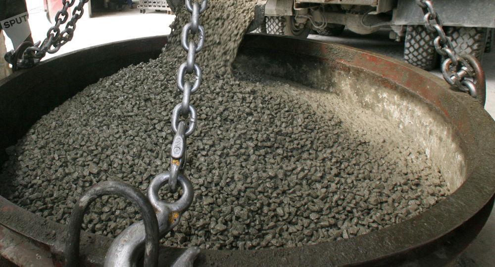 Zakład produkcji betonu w Kaliningradzie