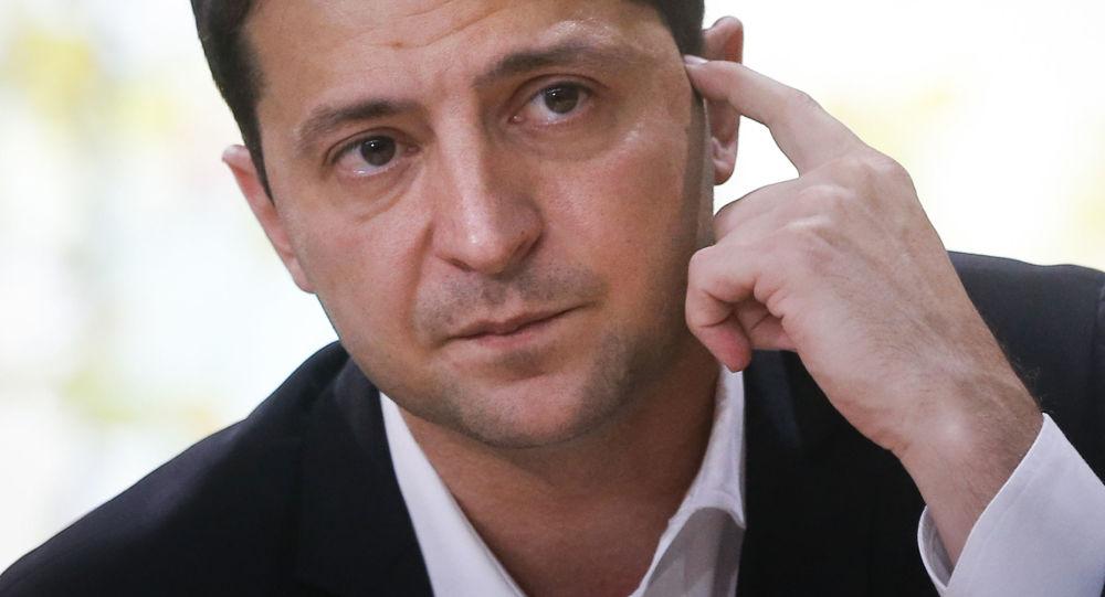 Prezydent Ukrainy Wołodymy Zełenski