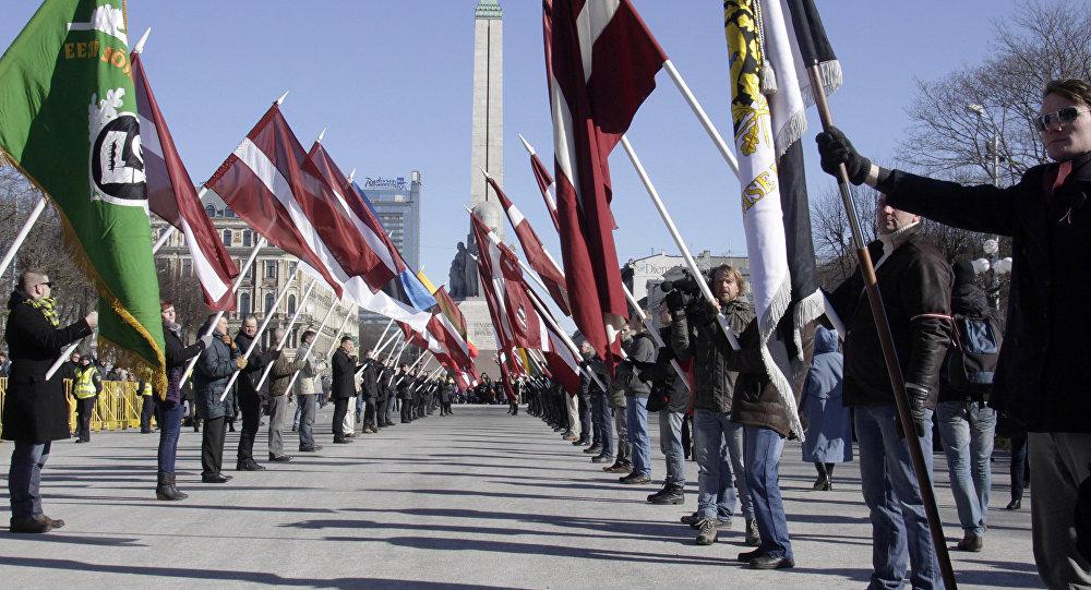 Marsz weteranów oddziałów Waffen SS, Ryga, 16 marca 2014