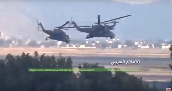 Mi-24 w Syrii