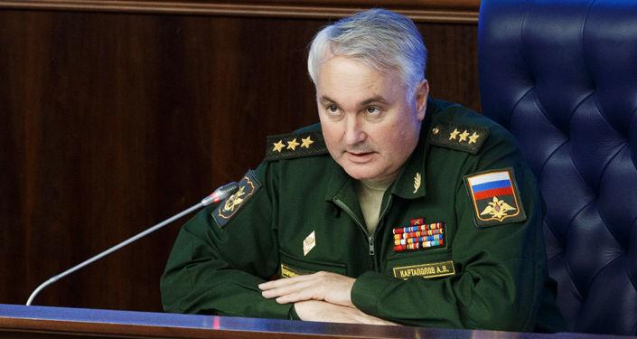 Przedstawiciel rosyjskiego sztabu generalnego generał Andriej Kartapołow